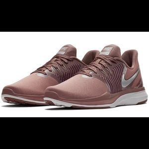 Mauve/Metallic Nike TR8